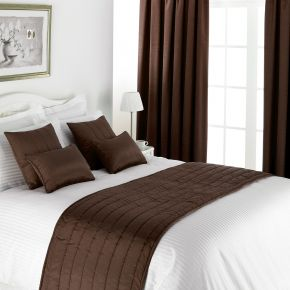 Lewis Collection Inherently Flame Retardant Quilted, Piped Cushion Cover