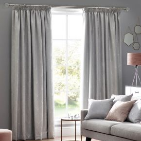 Metro Pencil Pleat Lined Curtains