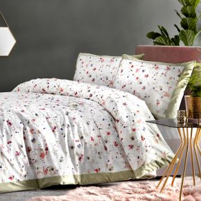 Appletree Mist 100% Cotton Duvet Cover Set Multi