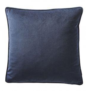 Karen Millen Velvet Square Cushion In Midnight