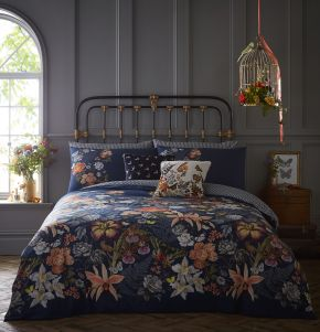 Oasis Botanical Duvet Cover Set and Accessories