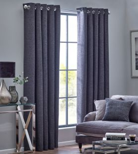 Orion Eyelet Lined Curtains