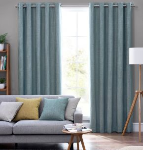 Orkney Eyelet Lined Curtains