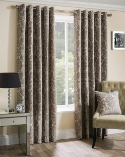 Park Lane Eyelet Chenille Curtains
