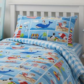 Bedlam Patch Seaside Duvet Set