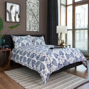 Saxon Park Duvet Set - Blue