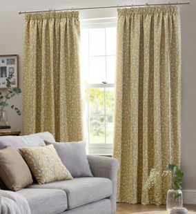 Sienna Pencil Pleat Tape Lined Curtains