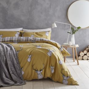 Catherine Lansfield Stag Easy Care Duvet Set