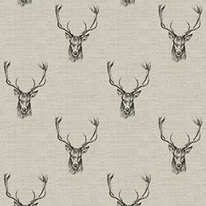 Stag PVC Fabric Tablecloth