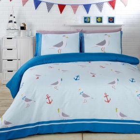 Seagulls Duvet Set by Rapport
