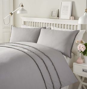 Serene Tassels Easy Care Duvet Set