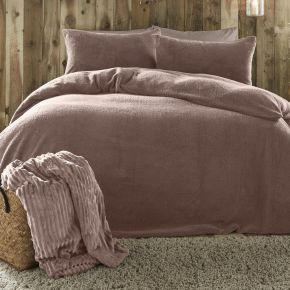 Fusion Teddy Fleece Duvet Set