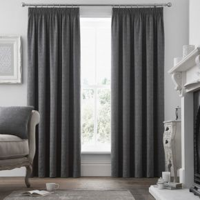 Voysey Curtains with Pencil Pleat Heading by Curtina