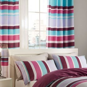 Textured Stripe Curtains